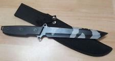 CI Camo Combat Knife Messer Gürtelmesser duchgehende Klinge m Corduraholster 129