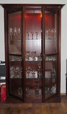Vitrinenschrank,Vitrine,Kirschbaum, 174 cm hoch