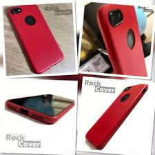 Protective Impact Displacement Soft Micro Silicone TPU Apple iPhone 7 Red Case