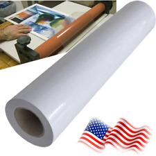 Matte Cold Laminating Film Monomeric 315mil Paper Adhesive Glue 30x165ft Roll