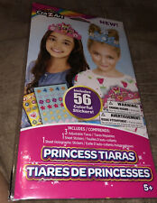 Cra-Z-Art Craft -Tiaras, DIY Thick Paper. 56 Stickers Included. NIB