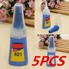 5pcs 401 Instant Adhesive Rapid Stronger Super Glue Multi-Purpose Stick Craft