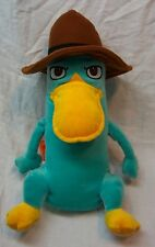 """Disney Phineas and Ferb PERRY THE PLATYPUS 11"""" Plush STUFFED ANIMAL Toy"""