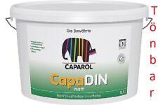 "CAPAROL CapaDin weiß 12,5L (2,71 €/L) Decken und Wandfarbe ""Blitz VERSAND"" !!!"
