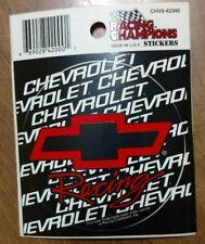 Chevrolet Racing Window Decal Sticker