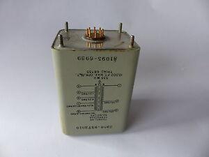 Transformator TRIAD 115/125V abwärts auf 78/10/4/1V, NOS, voll gekapselt