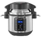 Crock-Pot Express Crisp 8-Quart Pressure Cooker and Air Fryer Stainless Steel