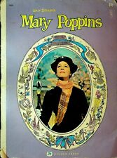 Walt Disney's Mary Poppins 1964 Golden Press Book Julie Andrews Dick Van Dyke