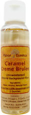 Caramel Creme Brulee Flavoring by Flavor Essence -Natural/Unsweetened 2oz