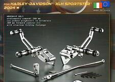 Billet Argent Forward Control Commandes Avancees Harley Davidson Sportster 04-13