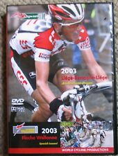 2003 Liege-Bastogne-Liege Fleche-Wallonne World Cycling Productions 2 DVD Clean