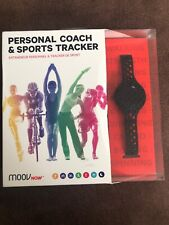 MOOV NOW Personal Coach & Workout Tracker (2nd Gen) Stealth Black Medium M1508