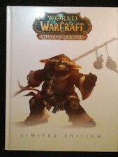 World of Warcraft Mists of Pandaria Strategy Guide Book Limited Edition Rare WOW