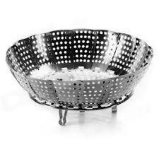 stainless steel steamer & Fruits/Vegetable multipurpose Basket