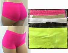 Women Stretchy Sport Booty Short Shorts Soft Seamless Mini Boy Panty Dance Yoga
