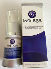 1 X  MYSTIQUE instant wrinkle smoother face eyes lift in 2mins serum cream 15ml