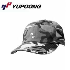 Yupoong Low Profile Schnee-Camouflage Dad Baseball Cap Uni/One Size Camouflage S