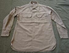 WWII US ARMY INFANTRY M1937 ENLISTED NCO WOOL COMBAT FIELD SHIRT-MEDIUM