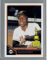 2011 WILLIE McCOVEY TOPPS LINEAGE ALL-STAR CARD # 192 GIANTS