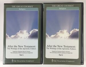Great Courses CD After The New Testament: Apostolic , Bard D. Ehrman, Pts 1 & 2