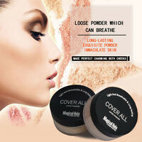 Finish Powder Face Loose Powder Foundation Makeup Translucent Smooth Setting  hs