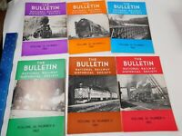 1965 The Bulletin National Railway Historical Society Volumes 1-6