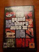 Grand Theft Auto III GTA PlayStation 2