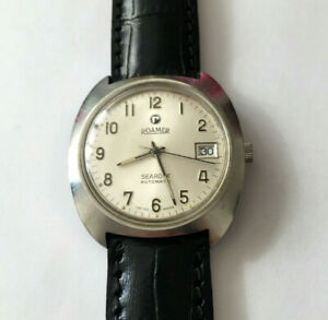 VINTAGE ROAMER SEAROCK AUTOMATIC SWISS MADE GREAT CONDITION
