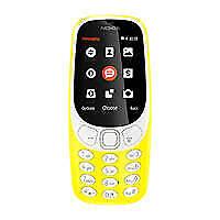 """Nokia 3310 2.4"""" Nero Grigio Giallo Telefono Cellulare (️più Venduto)"""