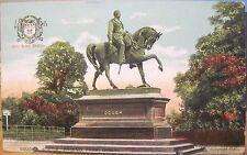 Irish Postcard Lord Gough Statue Phoenix Park Dublin Ireland Chas Reis Ff&Co