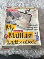 MySoftware Company My MailList and Address Book 3.5 Media