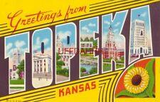 Greetings From Topeka Kansas various views
