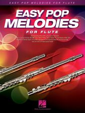 Easy Pop Melodies for Flute Instrumental Folio Book New 000125784