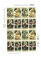 Interessanter Kleinbogen Zypern 1981 Orchideen postfrisch **