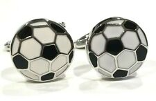 Metal w Groom Gift Sports Wedding New Soccer Ball Cufflinks Football Sports