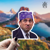 Prison Mike Sticker Vinyl Decal - Car Laptop Wall Macbook The Office Stickers