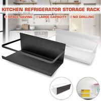 Kitchen Storage Organizer Magnetic Fridge Shelf Towel Paper Holder Bathroom Rack