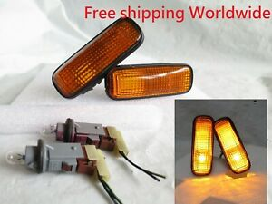 Genuine STANLEY Honda Civic EK9 BB6 BB4 HRV JDM OEM Amber Side Marker Lights