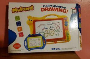 Meland Magnetic Drawing Board - Kids Magna Drawing Doodle Board Erasable Writing