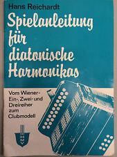 Spielanleitung für diatonische Harmonikas