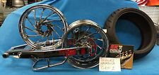 HAYABUSA CHROME 240 FAT TIRE KIT w/ TURBO WHEELS - COMPLETE KIT  99-07 SUZUKI