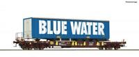Roco 76229 HO Gauge AAE Sdgmns33 Wagon Blue Water VI