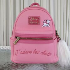 Disney Loungefly Aristocats Marie Mini Backpack Pink Les Chats Nwt