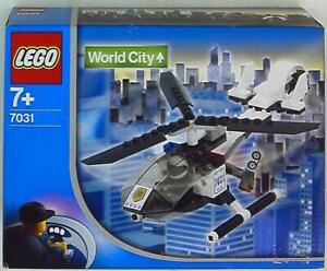 Lego World City Police helicopter