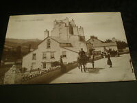 Old real photograph postcard Kings arms Combe Martin North Devon used 1916
