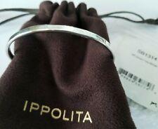 IPPOLITA - Senso™ Thin Sterling Silver Bangle Bracelet - NWT! $595