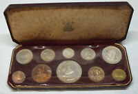1953 Great Britain Proof Coin Set Collection - BP567