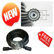 """High Pressure Washer Hose 50 Foot Extension 1/4"""" Replacement Part 3000 Psi"""