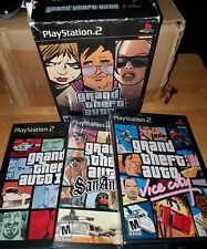 Grand Theft Auto: The Trilogy (Sony PlayStation 2, 2006) 2 used 1 unopened