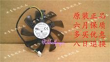 85mm ASUS GTX 460 560 HD 6790 6870 Lüfter 39mm 4Pin T129215SU 12V 0.50A #M762 QL